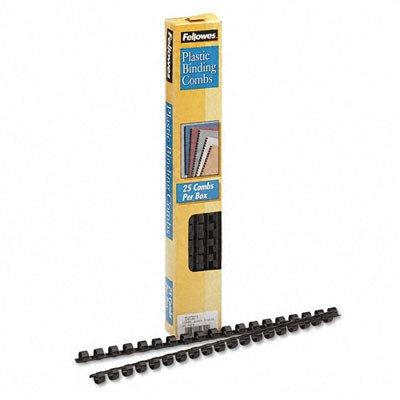 Plastic Comb Bindings, 40 Sheet Capacity, 25 Combs/Pack [Set of 3]