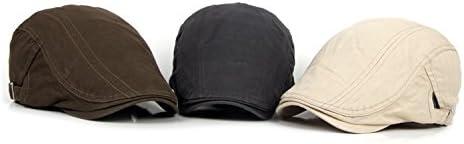 Kingsie ハンチング キャップ メンズ ゴルフ帽子 無地 アウトドア プレゼント 父の日 夏 レディース