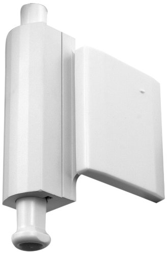 Prime Line Products U 10829 Patio Door Stop Lock Side Mount White