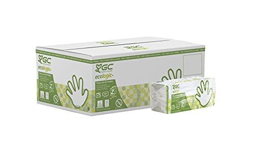 Gomà-Camps Xtrasec Z-handdoeken, 20 verpakkingen, 3840 stuks, 235 x 230 mm, van gerecycled papier, dubbellaags, zeer…