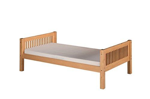 Camaflexi C111_NT Platform Bed, Twin, Natural