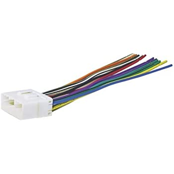 31Bhof7WqmL._SL500_AC_SS350_ amazon com 20 pin subaru nissan headunit radio wiring harness subaru aftermarket radio wiring harness at couponss.co