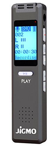 Best Voice Activated Recorder Device for Clear Audio Recording in Meetings...