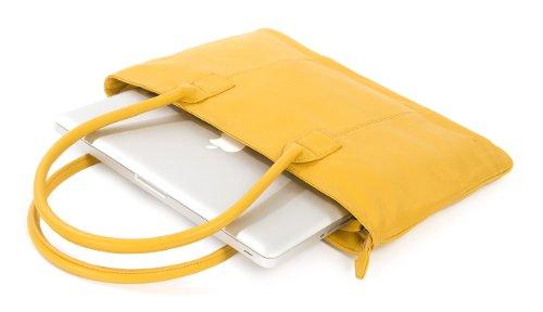 13 Black Tucano Black strap cases Tote Ladies cm One 13 Ladies Shoulder 33 case notebook case giallo Premium qrqHaSO