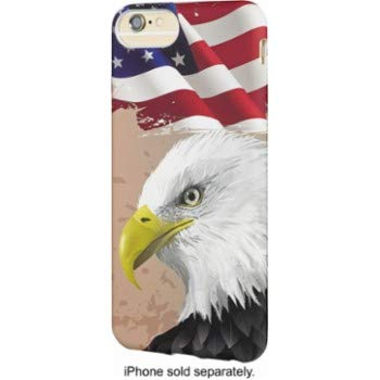 Dynex - Soft Shell Case for Apple iPhone 6s Plus, 7 Plus and 8 Plus - American Eagle