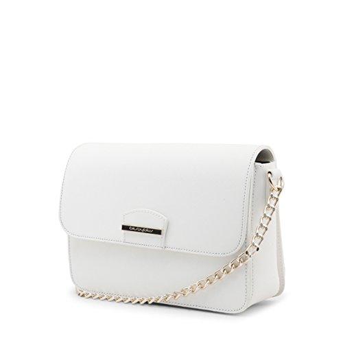 Crossbody Women Blu Designer Bag Genuine White Byblos Body Cross r8xzt8g