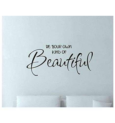 Dailinming PVC Wall Stickers English verse beautiful bedroom dresser carved headboard home decor green waterproofWallpaper56 cm x 38 cmLight Blue