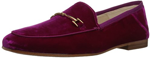 Sam Edelman Frauen Loraine Loafer Virtueller rosa Samt