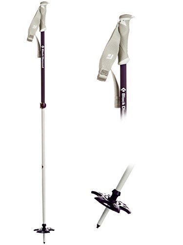 BLACK DIAMOND Boundary Probe Ski Poles, 115-140cm Nightshade One Size by Black Diamond by Black Diamond