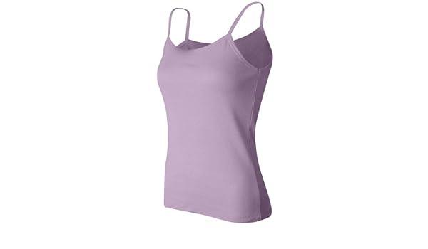 72fbe153d3d Bella Ladies Baby Rib Spaghetti Strap Tank Top. 1011 - Small - Lilac at Amazon  Women s Clothing store