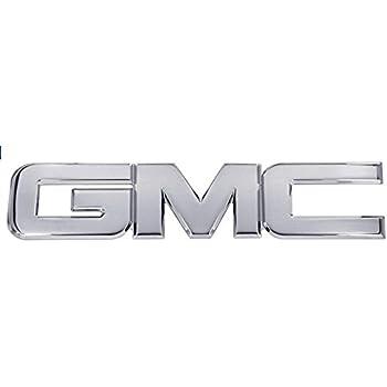 Polished 1 Pack AMI 96506P GMC Tailgate Emblem