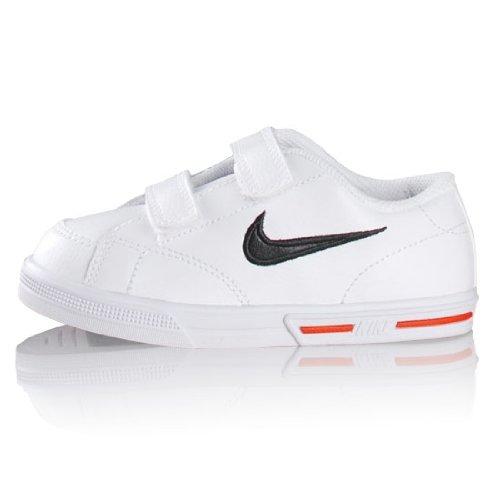 Nike Air Jordan 4 Retro BG White/Red/Black 408452-106 (Size: 3.5Y) by NIKE