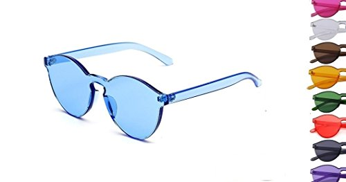 Retro Blue Fashion Sunglasses - Nyc Aviator