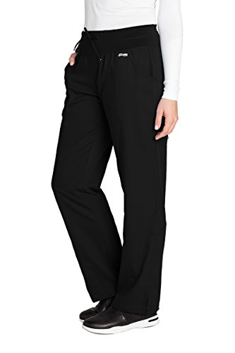 Grey's Anatomy Active 4276 Yoga Pant Black M by Barco