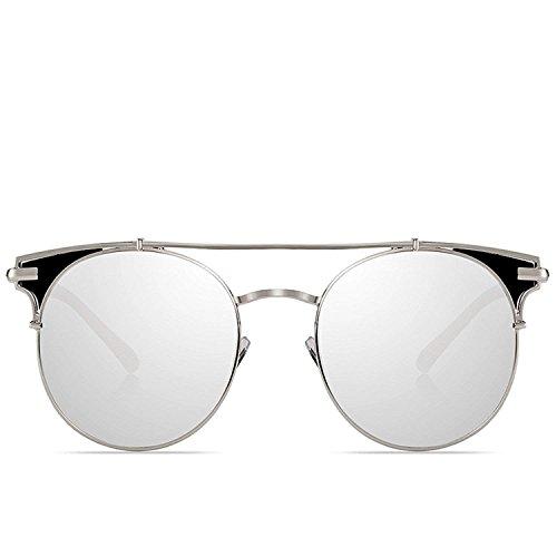 Women Shades Rose Gold Mirror Sunglasses With Free Case Pilot Female (Sniper Mirror Goggles)
