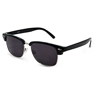 In Style Eyes Sellecks, Designer Reading Sunglasses, NOT Bifocals/Black/2.00
