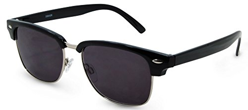 In Style Eyes Sellecks Designer Reading Sunglasses NOT Bifocals Black 1.75