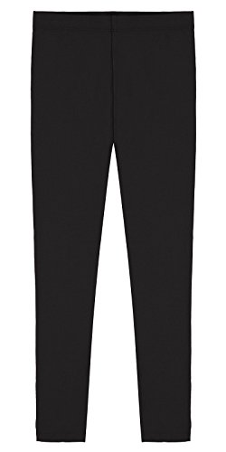 Popular-Girls-Cotton-Ankle-Length-Leggings-sizes-2-14-Made-in-USA