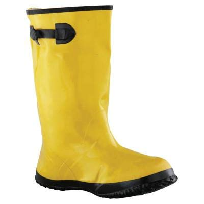 Anchor Brand Slush Boots, Size 10, 17 in H, Yellow