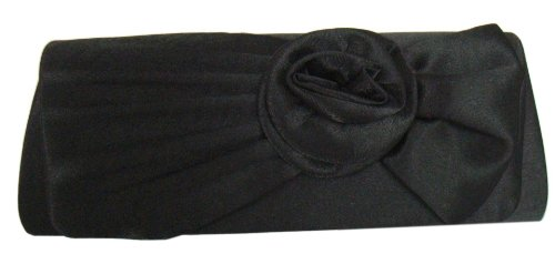 Black M Clutch Satin Handbag Blüte Clutch Satin qKHz4F