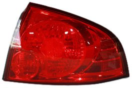 TYC 11-6001-00 Nissan Sentra Passenger Side Replacement Tail Light Assembly