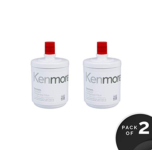 Genuine Kenmore Refrigerator Water Filter 9890 (2 Pack)