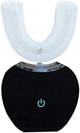 CQ&WL Vollautomatische Zahnbürste U-Förmige Elektrische 360°Ultraschall IPX7 Wasserdicht Kaltlicht Whitening Gerät DN156385