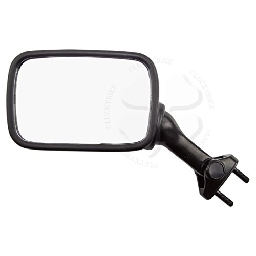 Kawasaki Zx7 Rear - Rear View Mirror Black For Kawasaki Ninja ZX 6R 7R ZX7 EX 500 R Hand Glass Left