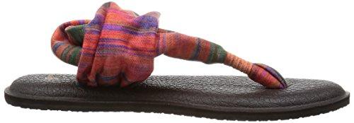 Sanuk Kvinners Yoga Slynge 2 Vippen Multi / Belte