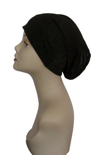 Tube Cap (Black Under Scarf Tube Cap (Hijab)