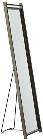 Glass Floor Mirror in Walnut Full Length Mirror Mirror Full Length Floor Mirror Wall Mirror Full Length Giant Mirror Gold Full Length Mirror Gold Mirror Full Length Black Full Length Mirror