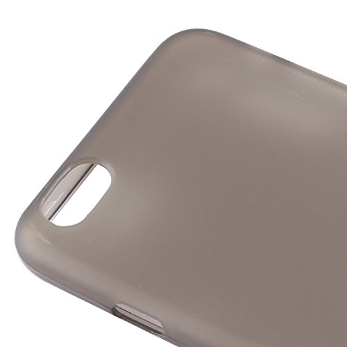 Phone Taschen & Schalen Frosted TPU Fall für iPhone 6 Plus & 6S Plus ( Color : Grey )