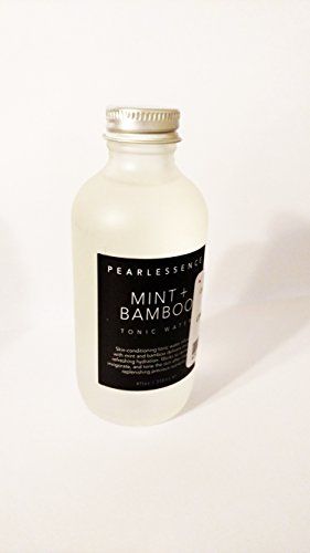PEARLESSENCE Mint + Bamboo Skin Conditioning Tonic Water All Over Body Spray 4oz