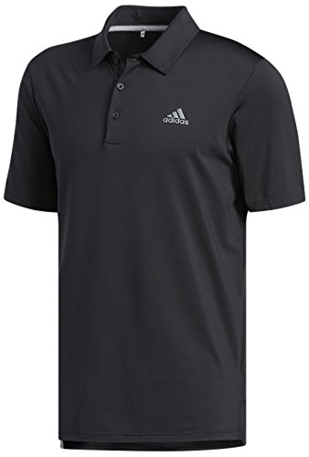 30b324af97b adidas Golf 2018 Ultimate 365 Solid Polo Mens Performance Golf Polo Shirt  Black Small
