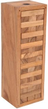 Mr - Jenga en caja de madera h: 29 cm: Amazon.es: Juguetes y juegos