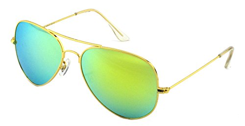Outray Men's Or Women's Aviator Sunglasses BT10 Gold/Gold
