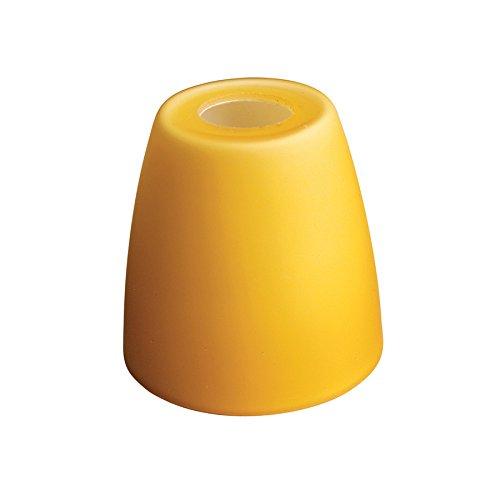 (WAC Lighting G114-AM G100 Series Bell Glass Shade, Amber)
