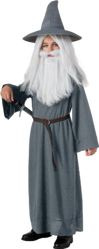 The Hobbit Gandalf the Grey Costume - Medium (Wizard Boy Costume)