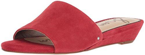 Liliana Edelman Slide Donna Sam Da Sandal Red 5v6SqAw