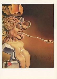 1976 Vintage SALVADOR DALI