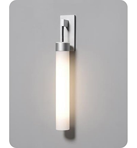 (Robern UFLWAL Uplift Fluorescent Wall Mount Bathroom Sconce with Night-Light Opt, Anodized Aluminum )