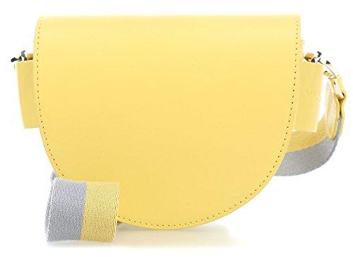 Liebeskind MixeDbagSS8 Bolsas de hombro amarillo