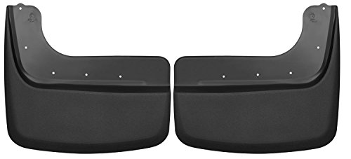 Husky Liners Dually Rear Mud Guards Fits 11-16 F350/450 Dual Rear Wheels