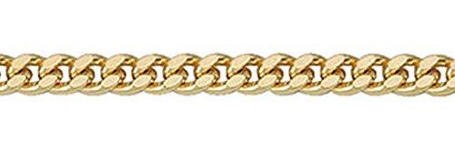 Flachpanzer chaîne collier en or 585 de 45 cm
