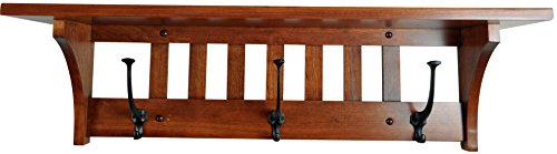 mission style coat rack - 7