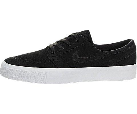 Nike Mens Zoom Stefan Janoski Prem Ht Black/black White Skate Shoe (8)