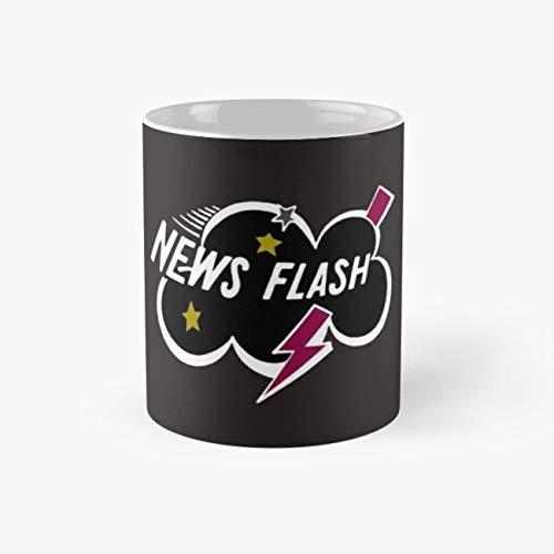 gocontigo - Muppet News Flash - Logo Design Mug 11 Oz White Ceramic