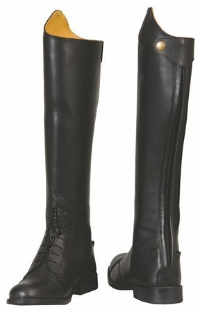 TuffRider Women's Baroque Field Short Boots, Black, 7 Regular by TuffRider