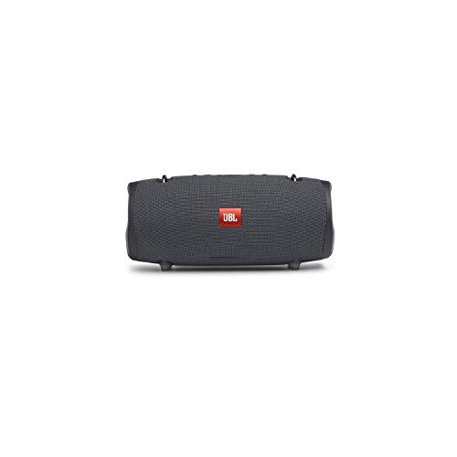 JBL Xtreme 2 Muziekbox in Gun Metal – waterdichte, draagbare stereo Bluetooth-luidsprekerbox met geïntegreerde powerbank…