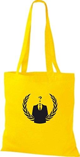 Shirtstown Algodón Bolso Dorado Para Amarillo De Tela Mujer rtrxC0wqd